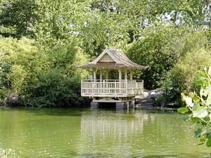 The new Saumarez Park Japanese pavilion will be opened officially by the Bailiff this evening.