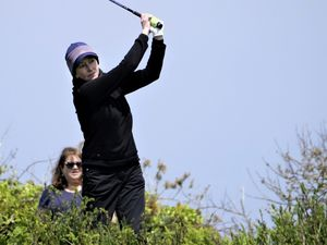 GOLF Island Women's Championships finals at L'Ancresse. Veronica Bougourd.Picture by Gareth Le Prevost, 30-05-21. (29606160)