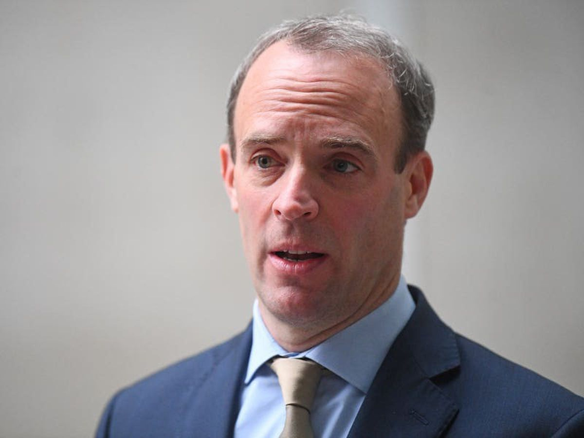 Raab calls for UN to respond to 'appalling' human rights violations in China