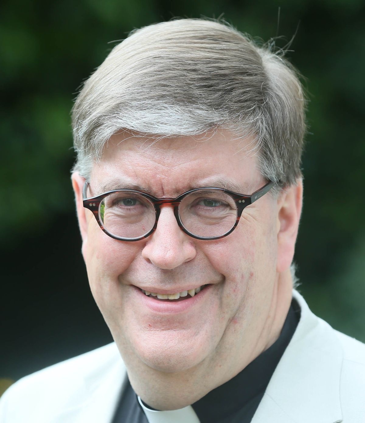 The Dean of Guernsey, the Very Rev. Tim Barker.