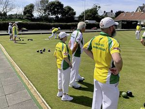 BOWLS Sarnia Shield match - Guernsey BC v. Vale Rec..Picture supplied by Garry Collins. (28563419)