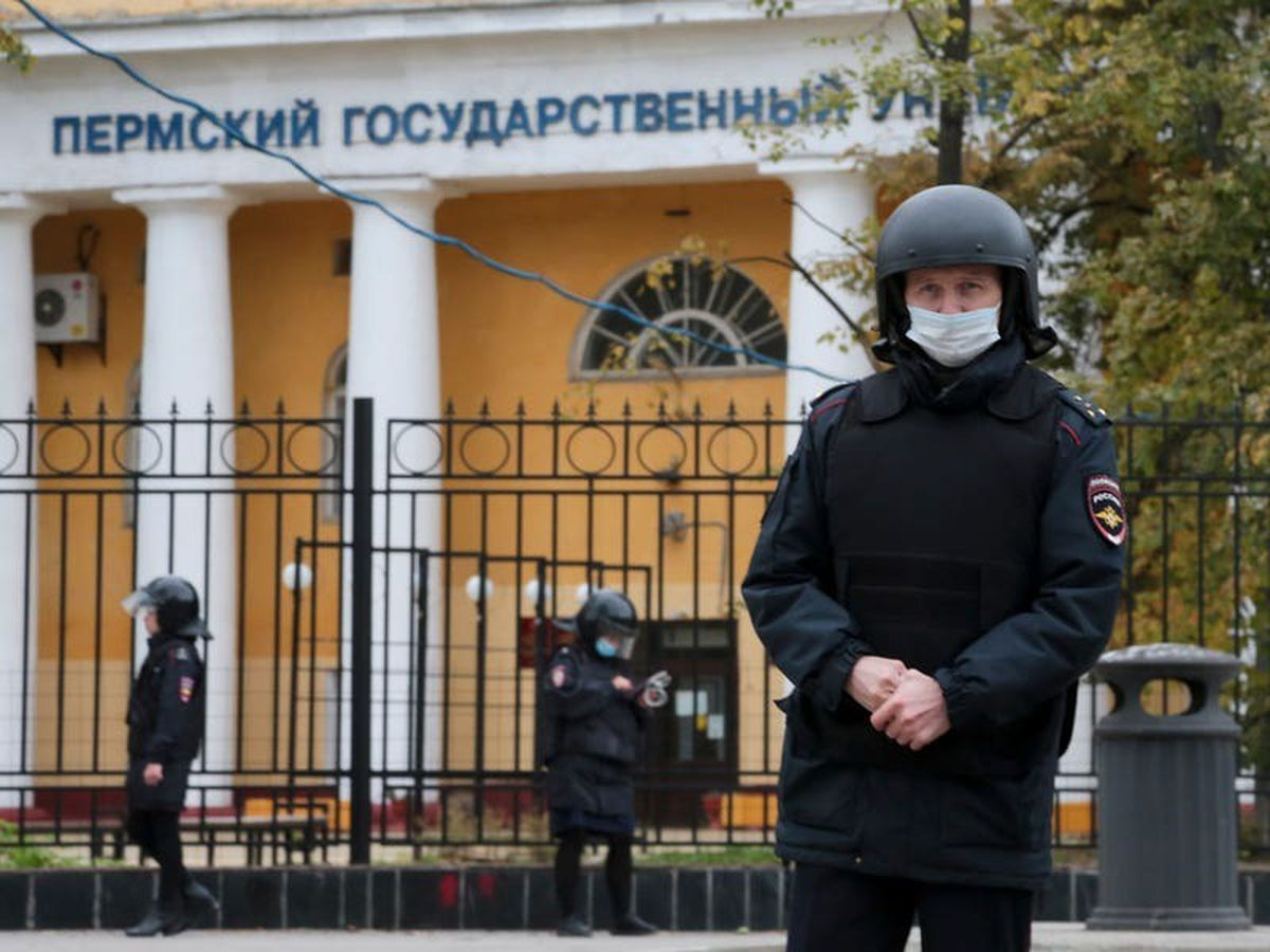 Six dead after gunman opens fire at Russian university
