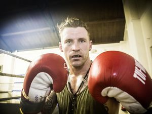 Back and raring to go: Middleweight favourite James Woolnough. (Picture by Adrian Miller , 26006611)
