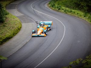 Picture by Sophie Rabey.  05-04-21.  Bank Holiday Easter Monday - Hill Climb at Val des Terres.  Afternoon session.. (29403673)