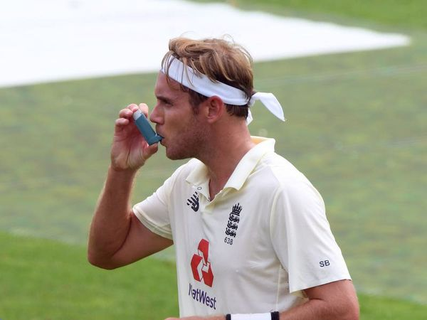 Stuart Broad one of the world's best ever bowlers despite suffering from asthma