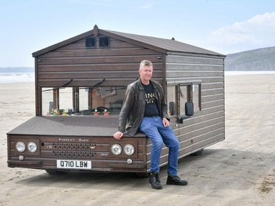 Fastest shed beats own speed record