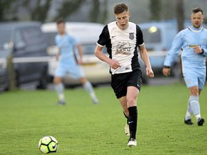 It's in the genes: Louis Hunter, a consistent and dynamic presence in the St Martin's midfield this season.             (Picture By Steve Sarre, 21282234)