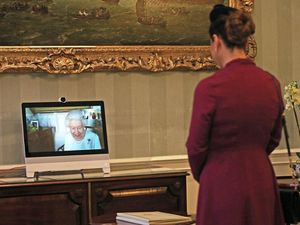 Queen holds first virtual diplomatic audience