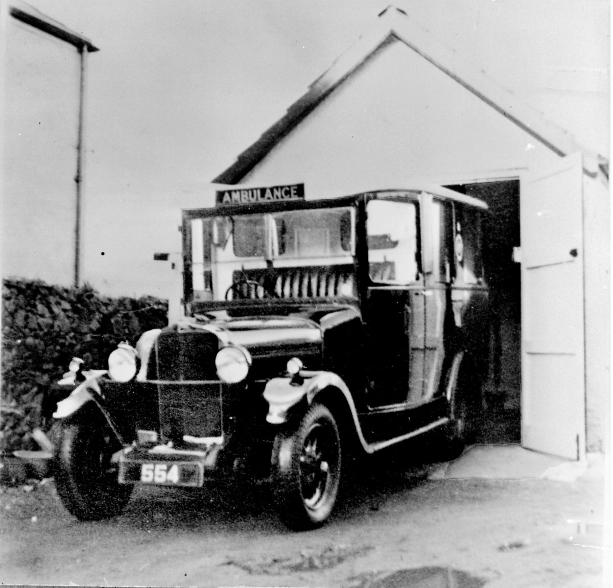 The first Ambulance Talbot c1936. (Picture copyright of Gary Blanchford )