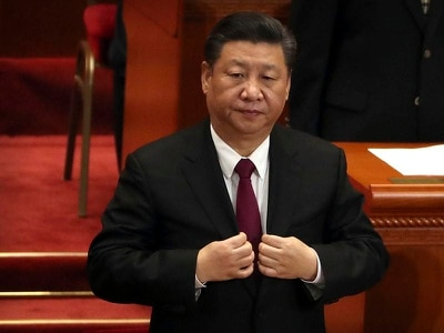 China president Xi strikes nationalistic tone in parliament address