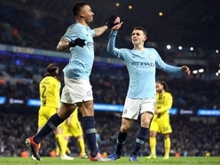 Manchester City starlet Phil Foden wows in game of two-touch