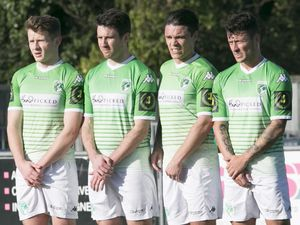 In line for a return: Guernsey FC now know their league start date but whether they and opposing teams will be permitted to fly in and out of the island with no quarantine restrictions remains unclear. (Picture by Adrian Miller, 28486093)