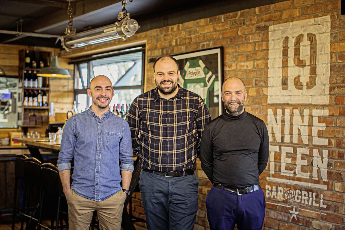 Emi Deliu (left) takes on the restaurant manager position as Nineteen director consultant and shareholder Marvin Odillard (centre) focuses on his new venture, Corner Group. Orlando Abreu, right, is the restaurant's new events manager. (29414599)