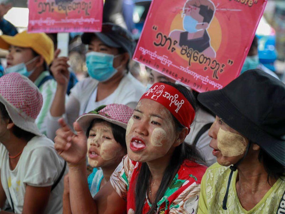 More Myanmar protests follow strike as international concern grows