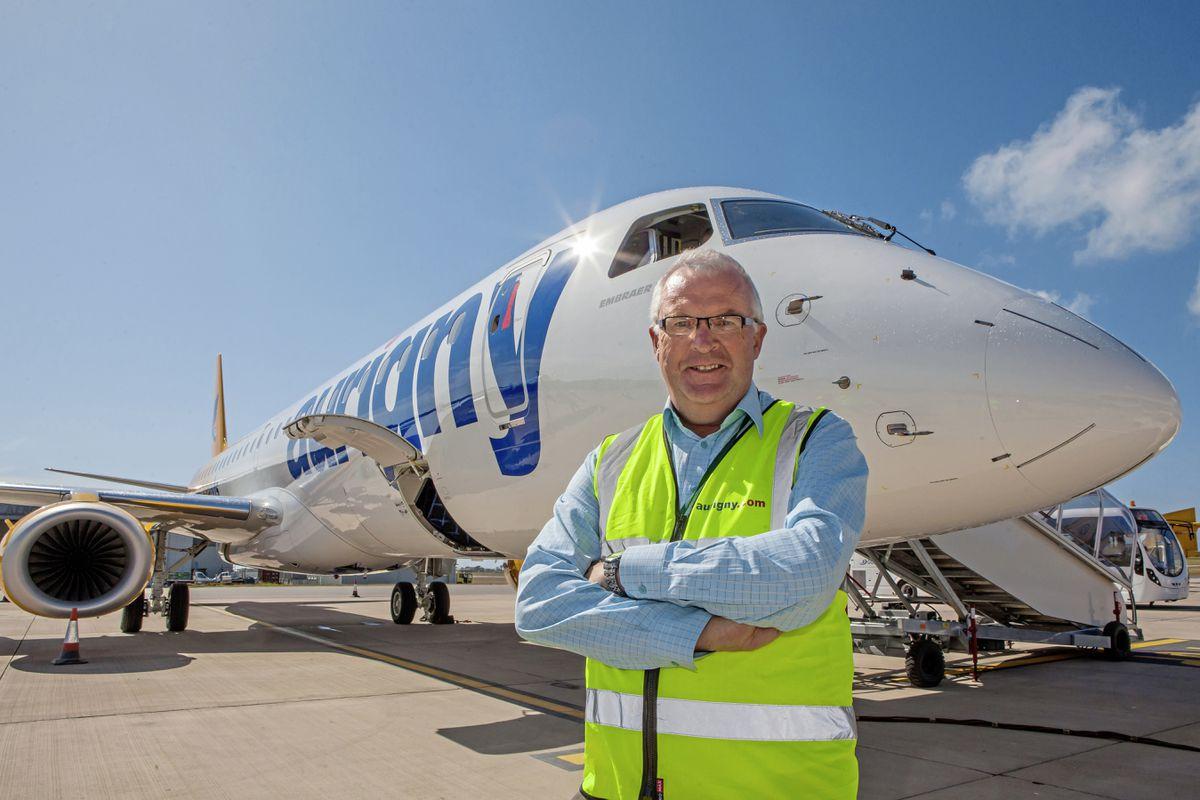 Aurigny CEO Mark Darby. (28697697)