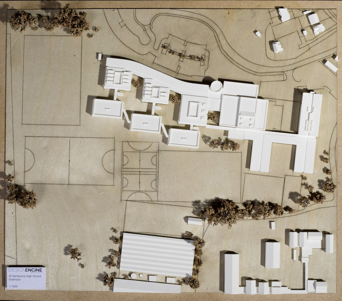 Picture supplied by Design Engine Architects of the plans for St Sampson's High School.