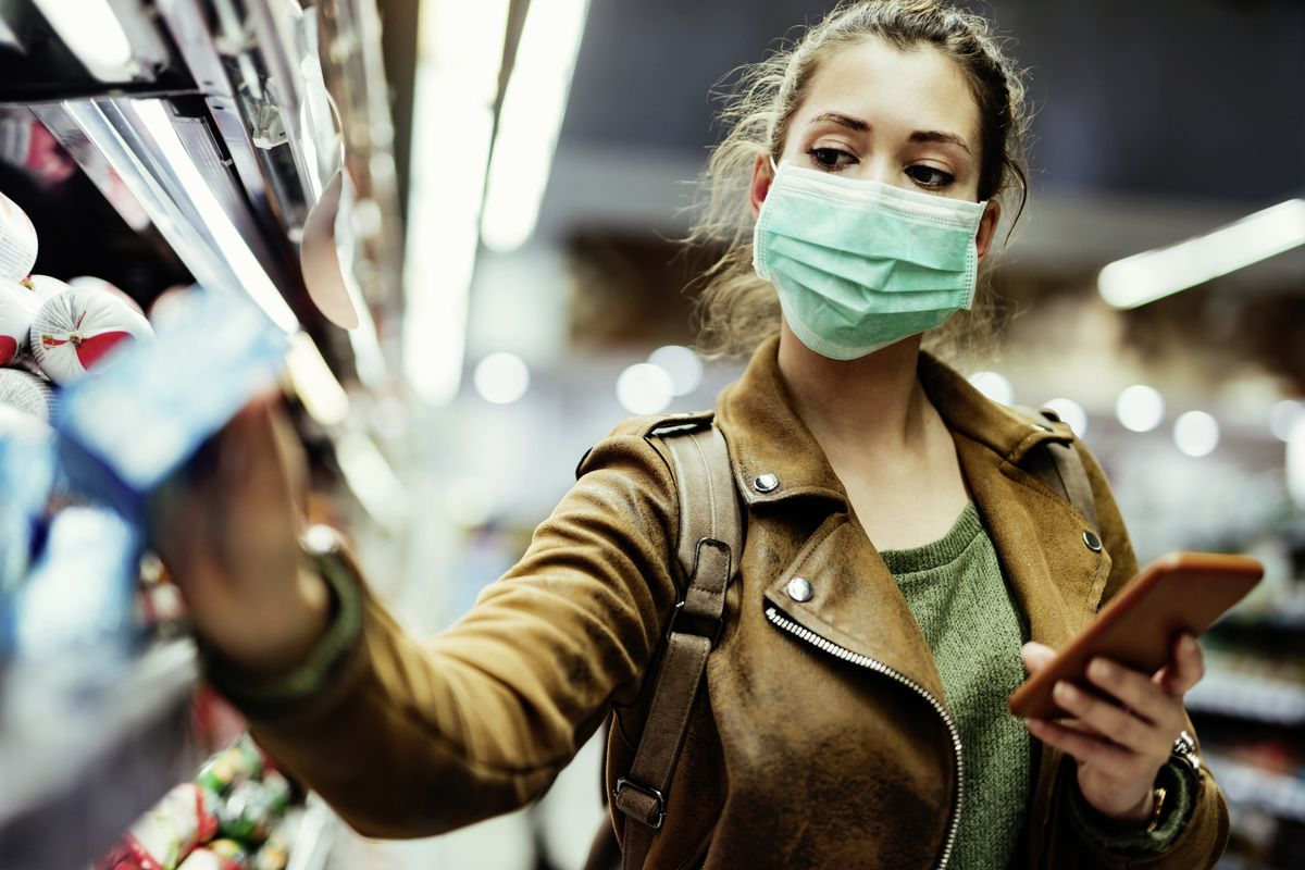 It is now compulsory to wear a face mask in shops in England. (Shutterstock picture)