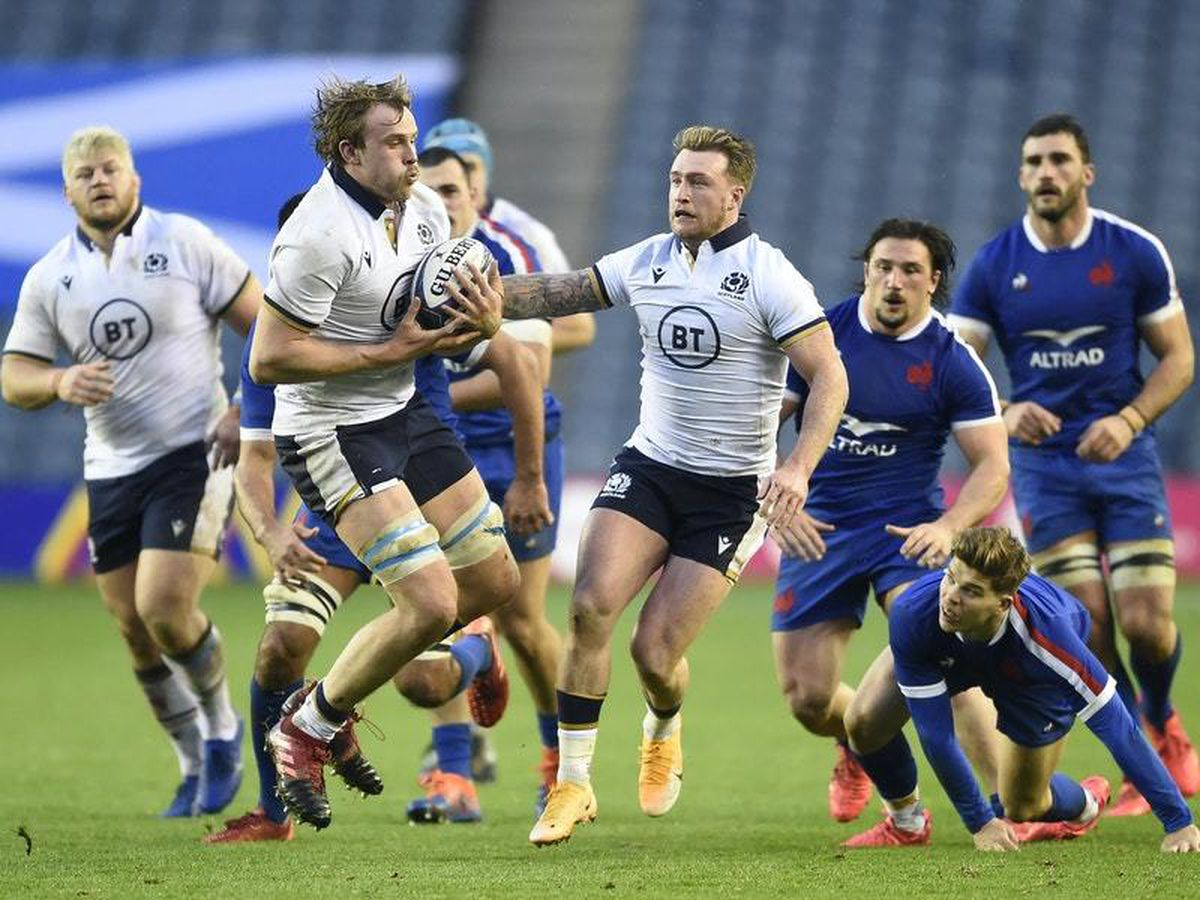 Scotland's winning streak ended by France at Murrayfield