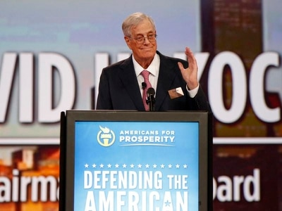 Billionaire and US conservative campaigner David Koch dies aged 79