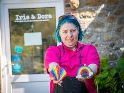 Rainbow-decorated doors spice up Guernsey fairy trail