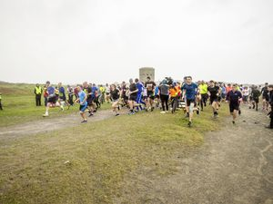Picture by Sophie Rabey.  31-10-20..Guernsey Parkrun  at Pembroke Bay/L'ancresse Common has restarted agian today after being suspended during lockdown.. (28862404)