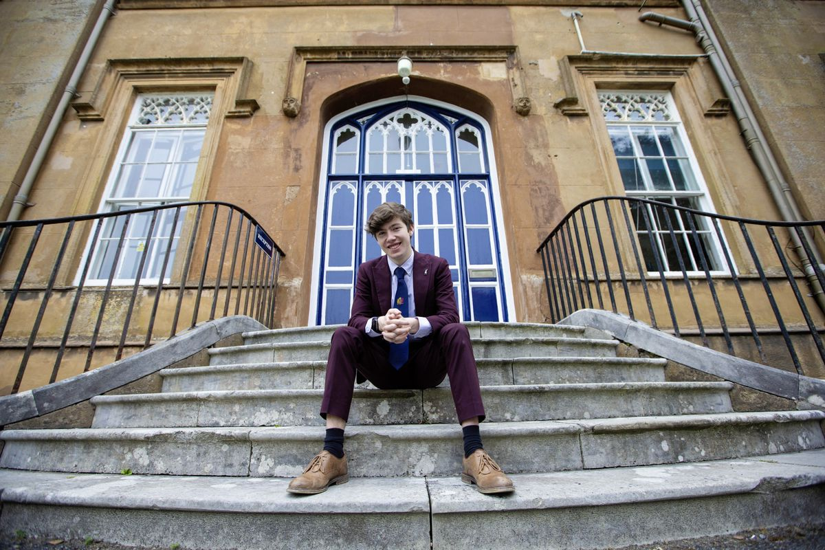 Elizabeth College student George Shuter is heading to Royal Conservatoire of Scotland in September. (Picture by Peter Frankland, 29617941)