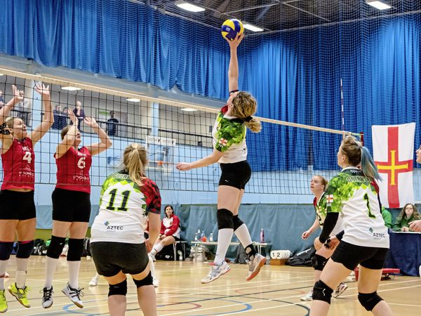 Spiked: Volleyball's inter-insular with a significant difference – against Isle of Man instead of Jersey – will now not go ahead next weekend.