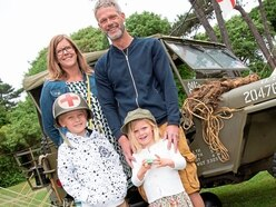 Vintage and military mix at Classic Vehicle Club Show