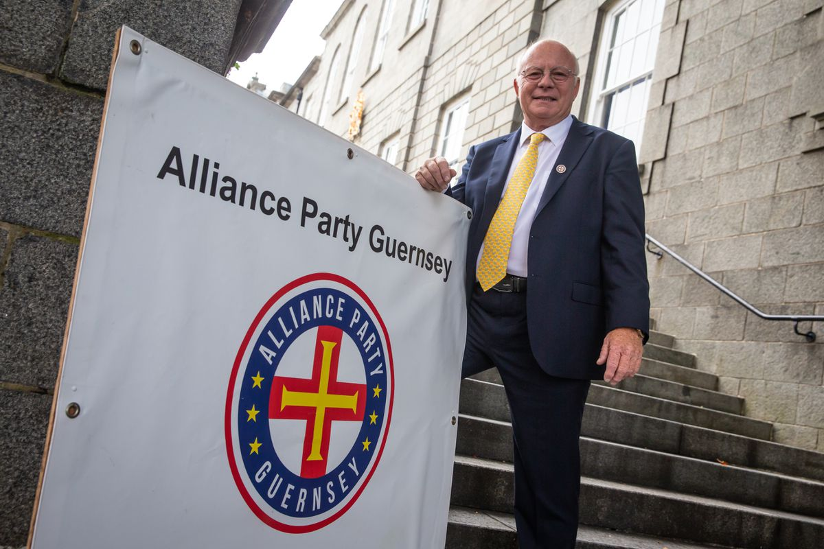 Alliance Party Guernsey chairman Barry Weir (28814446)