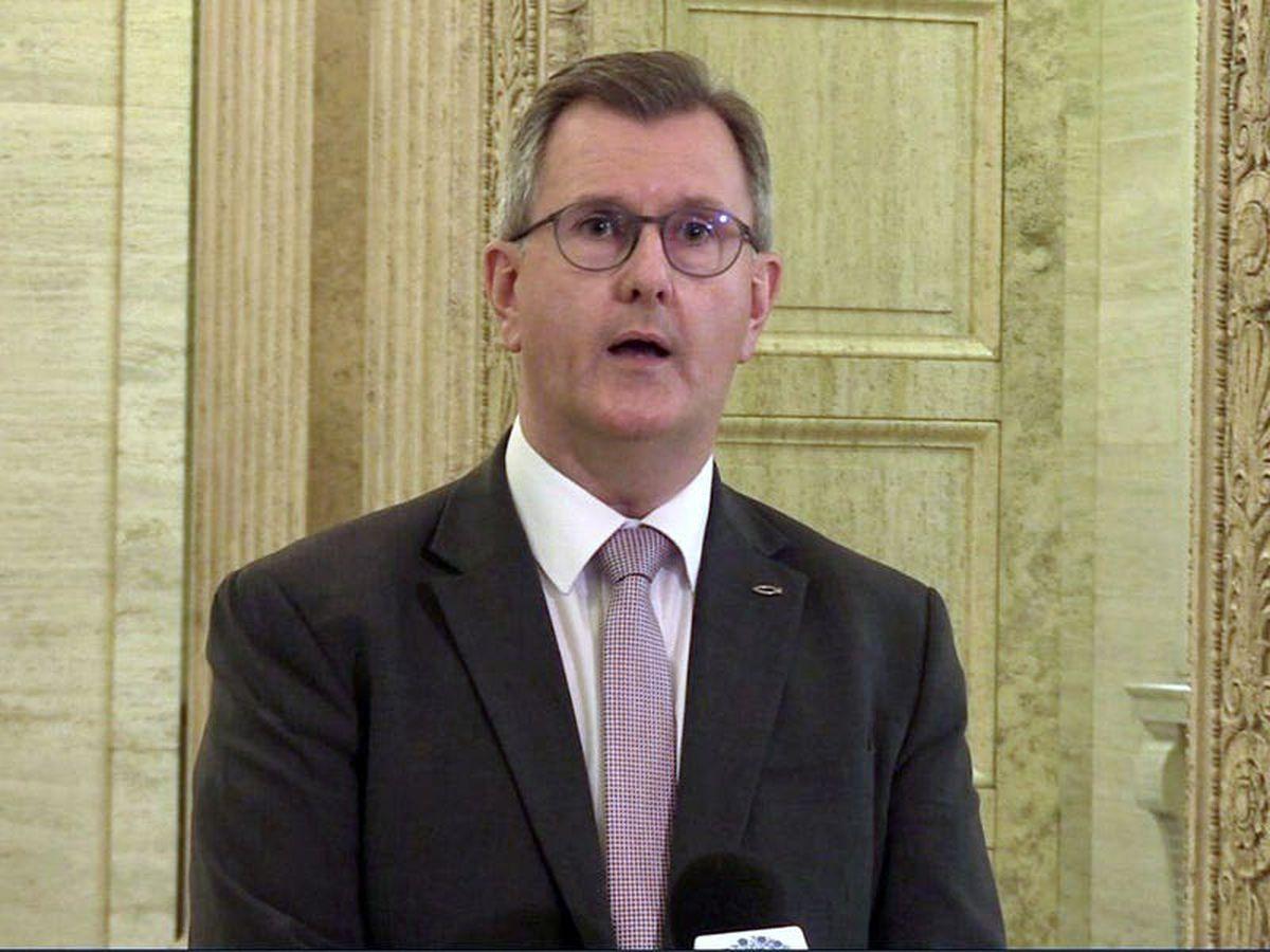 EU proposals on protocol a 'starting point' – Sir Jeffrey Donaldson