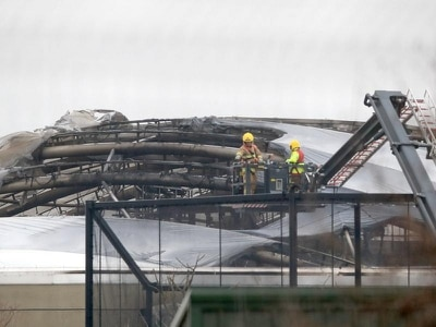Chester Zoo staff working to locate animals after fire tears through enclosure