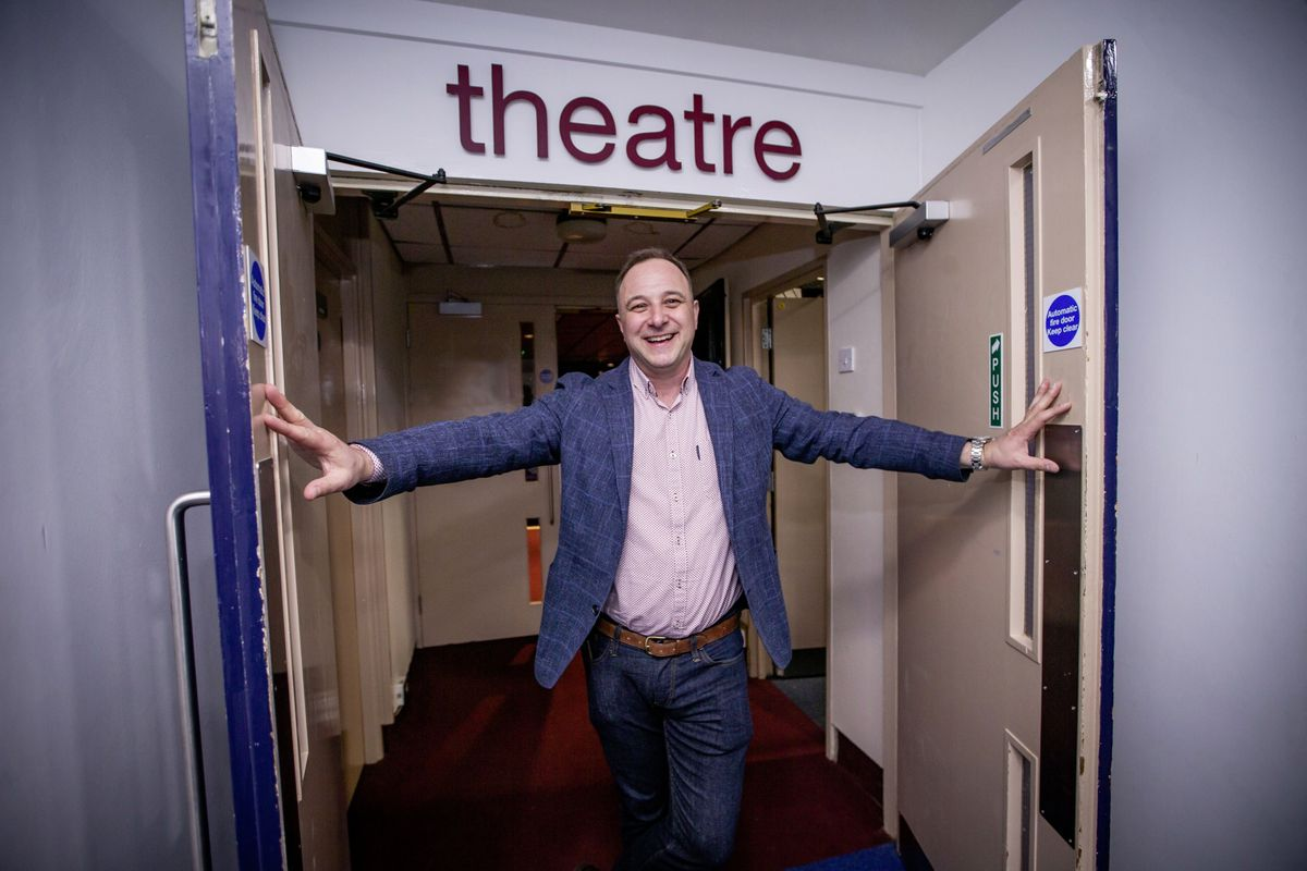 Darren Vogel is bringing four comedians to Guernsey for the first major comedy event of 2021. (Picture by Sophie Rabey, 29547293)