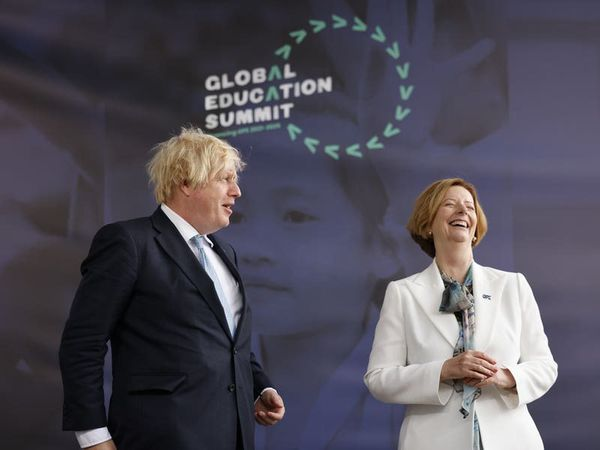 Boris Johnson says education is 'silver bullet' to fix global problems