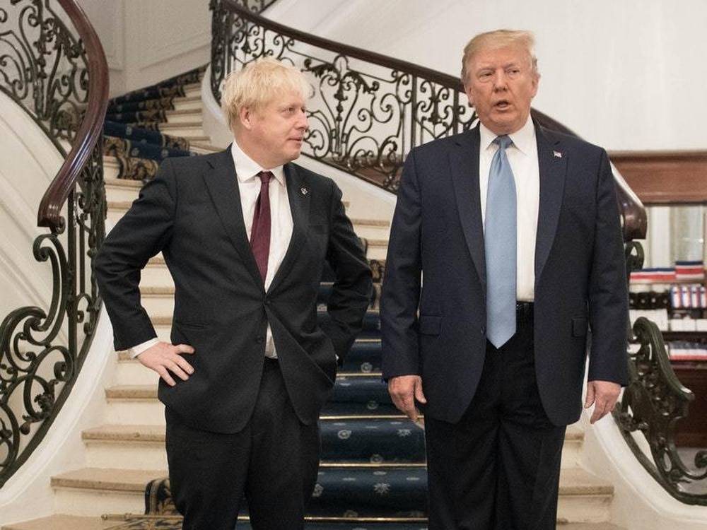 Johnson tells Trump he is 'on the road to recovery' from coronavirus