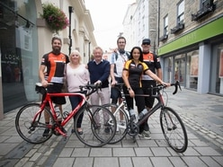 Cyclists embark on 2,000-mile journey to Istanbul