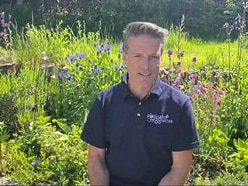 International broadcaster and naturalist becomes ambassador for Pollinator Project