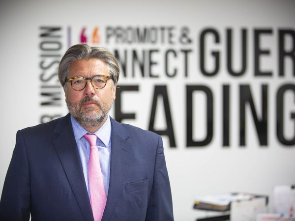 Rupert Pleasant, chief executive of Guernsey Finance. (Picture By Peter Frankland, 29363491)