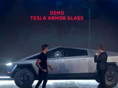 Tesla CyberTruck launch marred by 'shatterproof' windows breaking