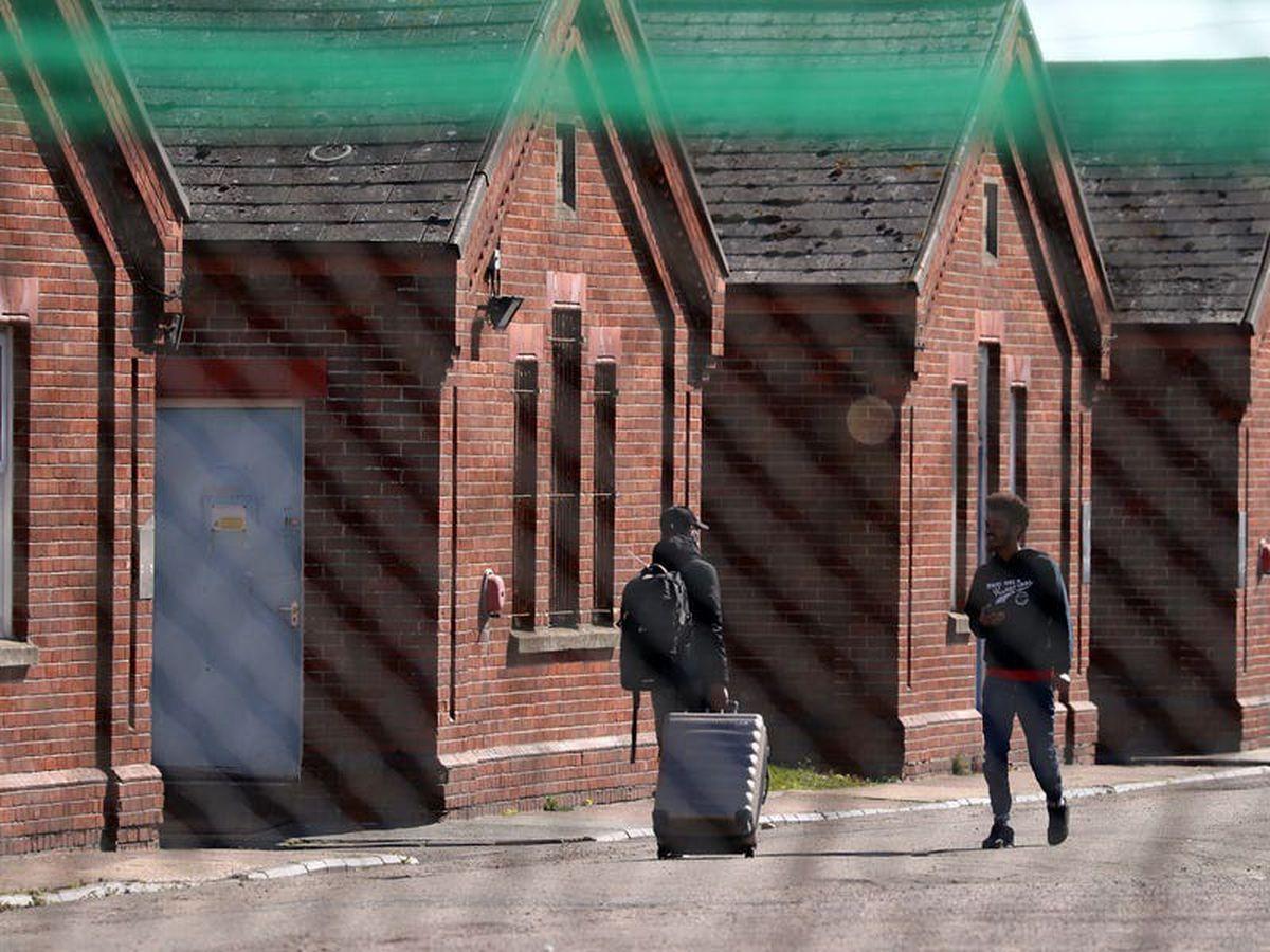 Asylum seekers win High Court challenge over 'squalid' Napier Barracks