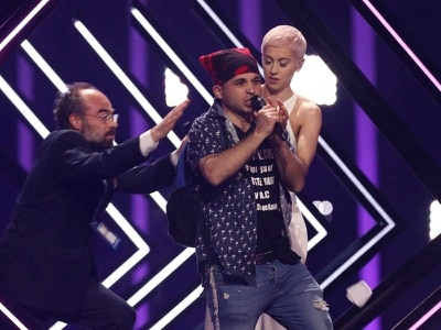 SuRie turns down chance to perform again after Eurovision stage invasion