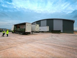 First batch of processed waste leaves Longue Hougue