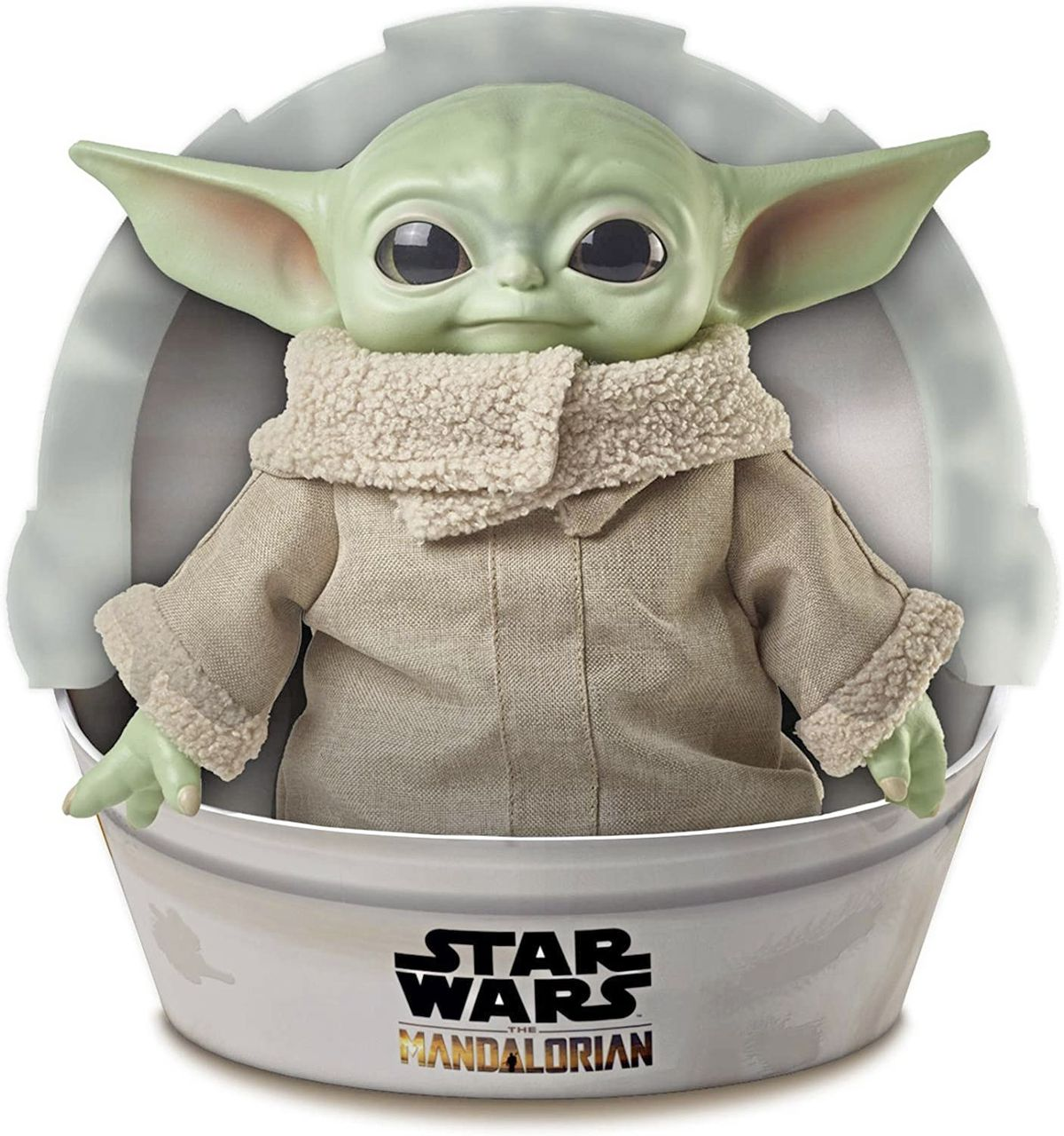 The Child or 'Baby Yoda' from The Mandalorian Star Wars TV series has proven a popular toy this year. There are many different versions of the doll available.