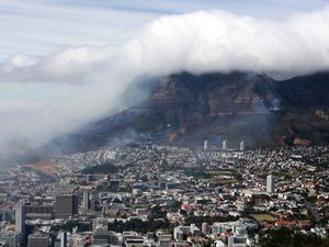 Residents evacuated as raging Table Mountain wildfire spreads in Cape Town