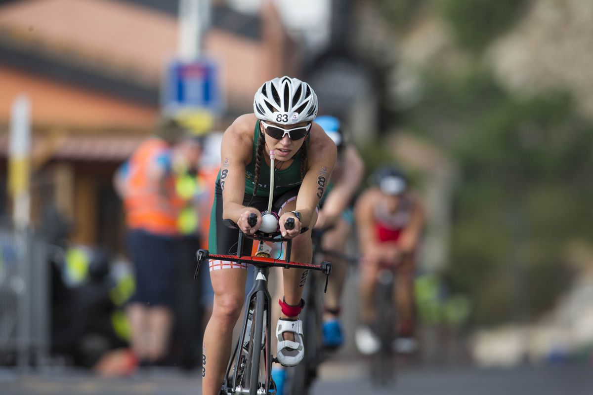 Individual silver medallist Megan Chapple also helped Guernsey to team gold in the Gibraltar 2019 NatWest International Island Games triathlon last year. (Picture by Peter Frankland, 27781308)