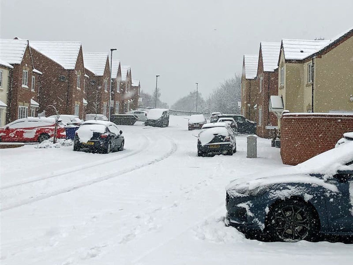 Heavy snow causing 'severe' problems for ambulance services in England