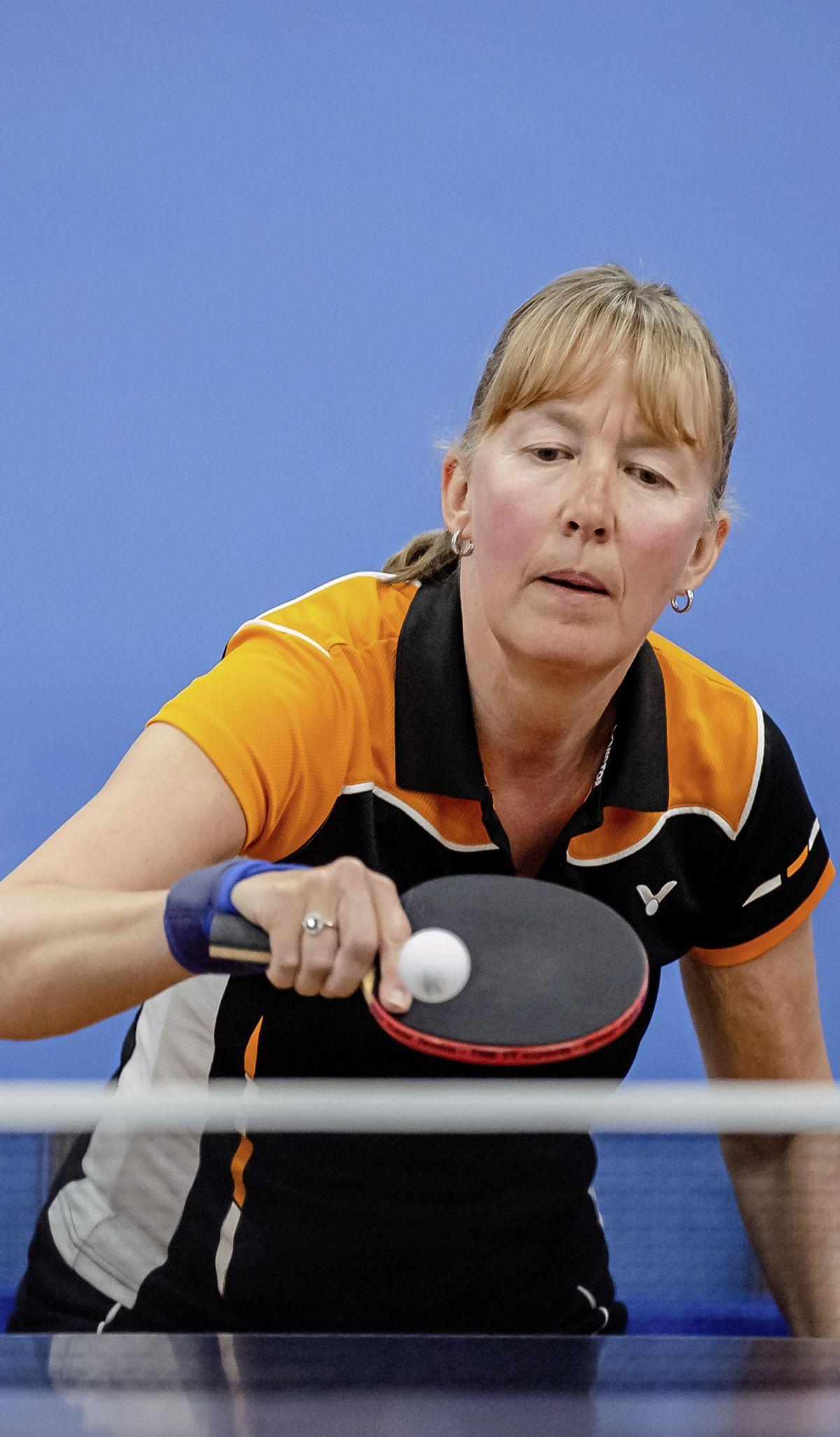 Title No.23: Women's singles winner Dawn Morgan. (Pictures by Andrew Le Poidevin, 29502192)