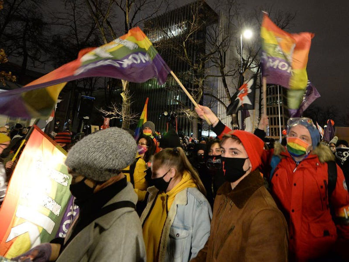 Protests break out in Poland after court's abortion ruling