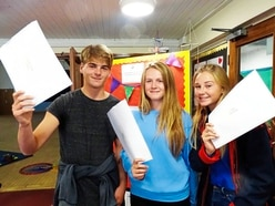 St Anne's School pupils celebrate GCSE results