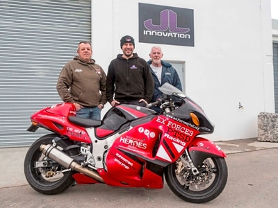 200mph is aim of PTSD awareness rider