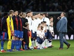 Go Compare ads' Wynne Evans sings at Tottenham Hotspur Stadium opening